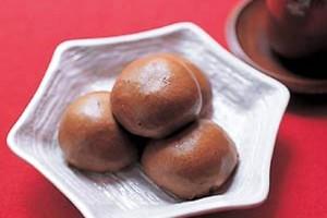 Паровые булочки с начинкой из батата