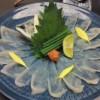 «Фугусаши» (сашими из фугу)