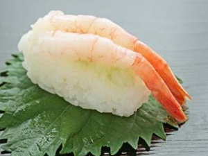 Суши, нигиридзуси c креветками