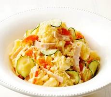 Салат из картофеля по-японски